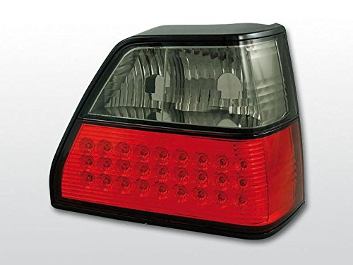 led r ckleuchten set vw golf 2 klarglas rot rauch. Black Bedroom Furniture Sets. Home Design Ideas